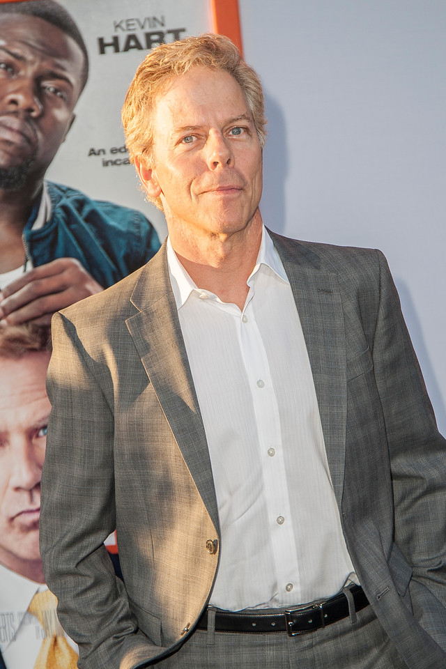 LOS ANGELES, CA - MARCH 25: Actor Greg Germann arrives at the premiere of Warner Bros. Pictures' 'Get Hard' at the Chinese Theatre on March 25, 2015 in Los Angeles, California. (Photo by Tom Sorensen/Moovieboy Pictures)