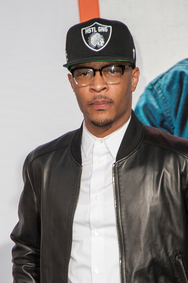 LOS ANGELES, CA - MARCH 25: Rapper T. I. arrives at the premiere of Warner Bros. Pictures' 'Get Hard' at the Chinese Theatre on March 25, 2015 in Los Angeles, California. (Photo by Tom Sorensen/Moovieboy Pictures)