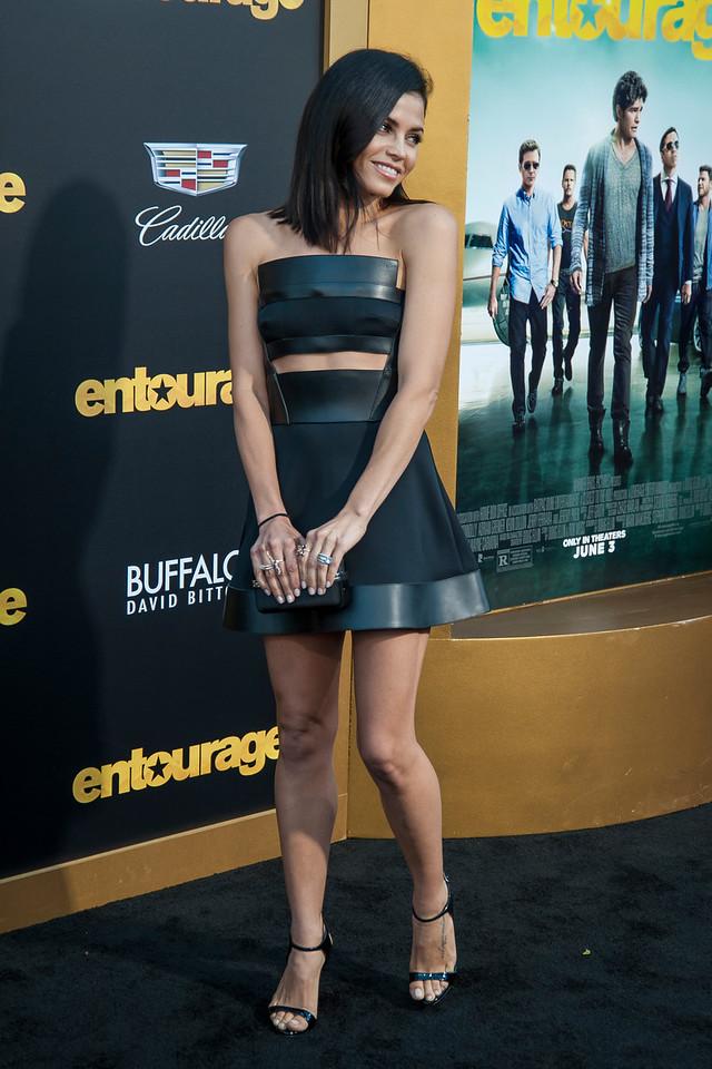 WESTWOOD, CA - JUNE 01: Actress Jenna Dewan Tatum attends the 'Entourage' Los Angeles premiere at Regency Village Theatre on Monday, June 1, 2015 in Westwood, California. (Photo by Tom Sorensen/Moovieboy Pictures)