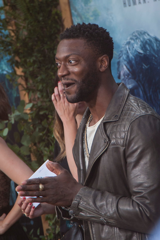 HOLLYWOOD, CA - JUNE 27: Actor Aldis Hodge attends the premiere of Warner Bros. Pictures' 'The Legend Of Tarzan' at Dolby Theatre on Monday June 27, 2016 in Hollywood, California. (Photo by Tom Sorensen/Mooviboy Pictures)