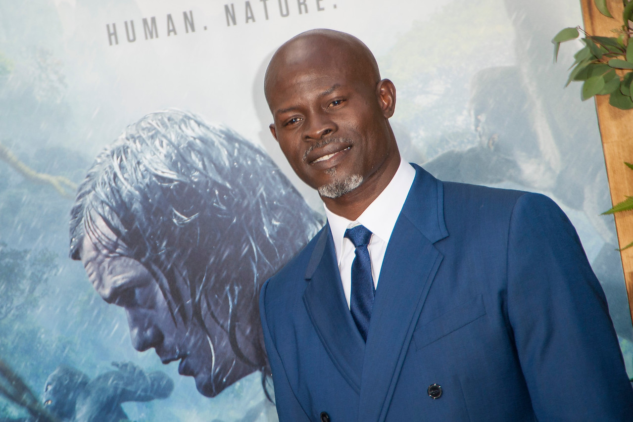 HOLLYWOOD, CA - JUNE 27: Actor Djimon Hounsou attends the premiere of Warner Bros. Pictures' 'The Legend Of Tarzan' at Dolby Theatre on Monday June 27, 2016 in Hollywood, California. (Photo by Tom Sorensen/Mooviboy Pictures)