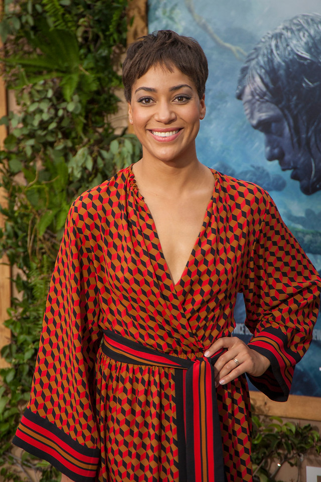 HOLLYWOOD, CA - JUNE 27: Actress Cush Jumbo attends the premiere of Warner Bros. Pictures' 'The Legend Of Tarzan' at Dolby Theatre on Monday June 27, 2016 in Hollywood, California. (Photo by Tom Sorensen/Mooviboy Pictures)