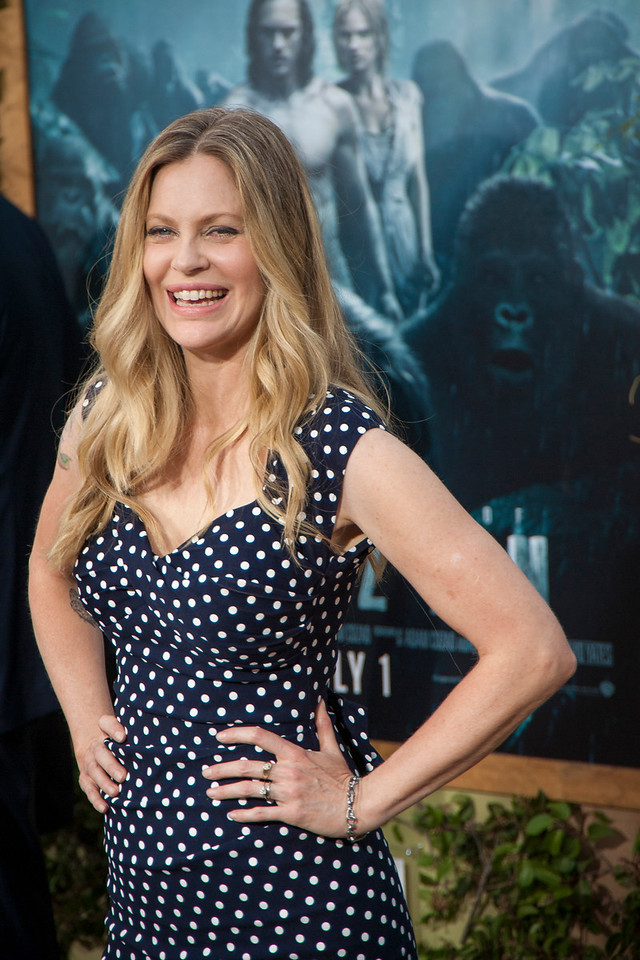 HOLLYWOOD, CA - JUNE 27: Actress Kristin Bauer Von Straten attends the premiere of Warner Bros. Pictures' 'The Legend Of Tarzan' at Dolby Theatre on Monday June 27, 2016 in Hollywood, California. (Photo by Tom Sorensen/Mooviboy Pictures)