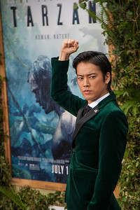 HOLLYWOOD, CA - JUNE 27: Kenta Kiritani attends the premiere of Warner Bros. Pictures' 'The Legend Of Tarzan' at Dolby Theatre on Monday June 27, 2016 in Hollywood, California. (Photo by Tom Sorensen/Mooviboy Pictures)