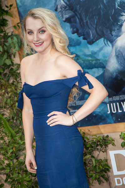 HOLLYWOOD, CA - JUNE 27: Actress Evanna Lynch attends the premiere of Warner Bros. Pictures' 'The Legend Of Tarzan' at Dolby Theatre on Monday June 27, 2016 in Hollywood, California. (Photo by Tom Sorensen/Mooviboy Pictures)