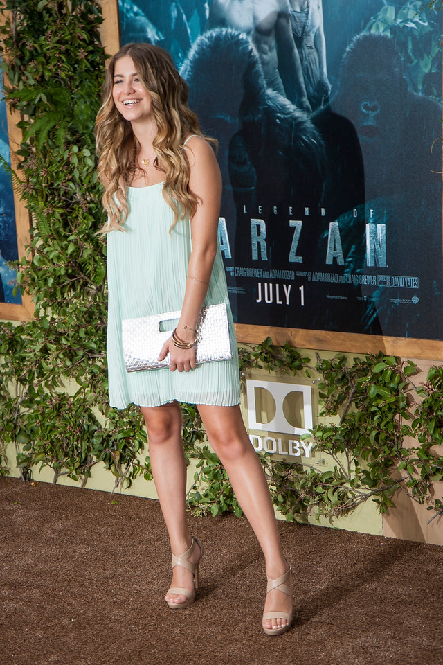 HOLLYWOOD, CA - JUNE 27: Sofia Reyes attends the premiere of Warner Bros. Pictures' 'The Legend Of Tarzan' at Dolby Theatre on Monday June 27, 2016 in Hollywood, California. (Photo by Tom Sorensen/Mooviboy Pictures)