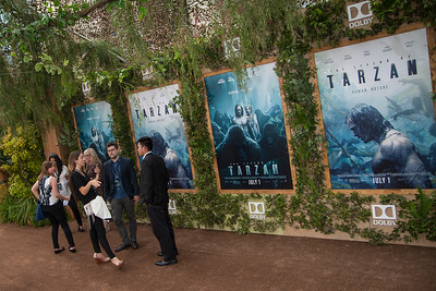 HOLLYWOOD, CA - JUNE 27: Atmosphere at the premiere of Warner Bros. Pictures' 'The Legend Of Tarzan' at Dolby Theatre on Monday June 27, 2016 in Hollywood, California. (Photo by Tom Sorensen/Mooviboy Pictures)