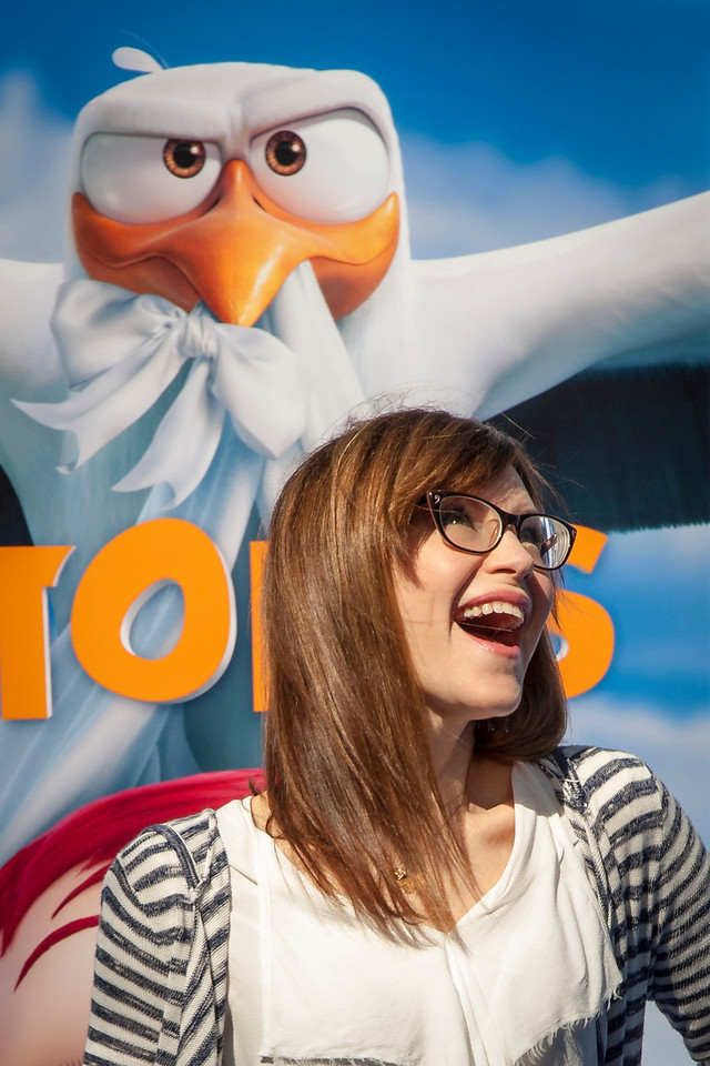WESTWOOD, CA - SEPTEMBER 17: Singer Lisa Loeb attends the premiere of Warner Bros. Pictures' 'Storks' at Regency Village Theatre on Saturday September 17, 2016 in Westwood, California. (Photo by Tom Sorensen/Moovieboy Pictures)
