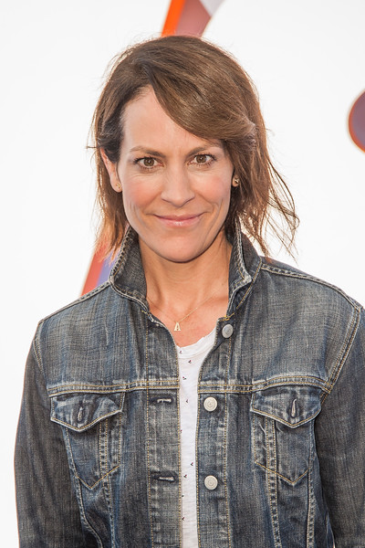 WESTWOOD, CA - SEPTEMBER 17: Actress Annabeth Gish attends the premiere of Warner Bros. Pictures' 'Storks' at Regency Village Theatre on Saturday September 17, 2016 in Westwood, California. (Photo by Tom Sorensen/Moovieboy Pictures)