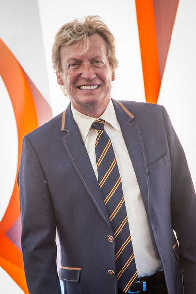 WESTWOOD, CA - SEPTEMBER 17: TV personality Nigel Lythgoe attends the premiere of Warner Bros. Pictures' 'Storks' at Regency Village Theatre on Saturday September 17, 2016 in Westwood, California. (Photo by Tom Sorensen/Moovieboy Pictures)