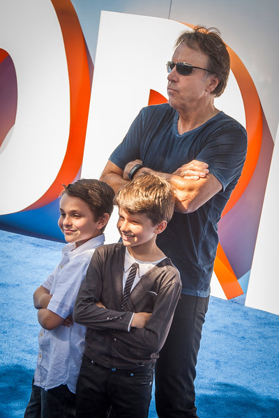 WESTWOOD, CA - SEPTEMBER 17: Actor Kevin Nealon and sons attend the premiere of Warner Bros. Pictures' 'Storks' at Regency Village Theatre on Saturday September 17, 2016 in Westwood, California. (Photo by Tom Sorensen/Moovieboy Pictures)
