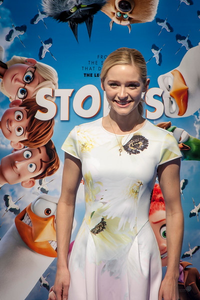 WESTWOOD, CA - SEPTEMBER 17: Actress Greer Grammer attends the premiere of Warner Bros. Pictures' 'Storks' at Regency Village Theatre on Saturday September 17, 2016 in Westwood, California. (Photo by Tom Sorensen/Moovieboy Pictures)