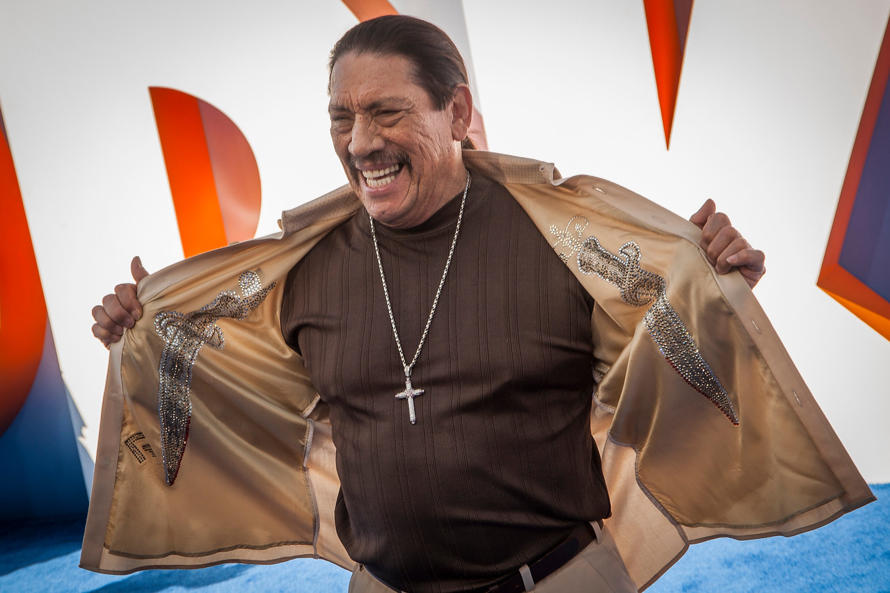 WESTWOOD, CA - SEPTEMBER 17: Actor Danny Trejo attends the premiere of Warner Bros. Pictures' 'Storks' at Regency Village Theatre on Saturday September 17, 2016 in Westwood, California. (Photo by Tom Sorensen/Moovieboy Pictures)