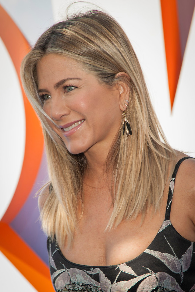 WESTWOOD, CA - SEPTEMBER 17: Actress Jennifer Aniston attends the premiere of Warner Bros. Pictures' 'Storks' at Regency Village Theatre on Saturday September 17, 2016 in Westwood, California. (Photo by Tom Sorensen/Moovieboy Pictures)