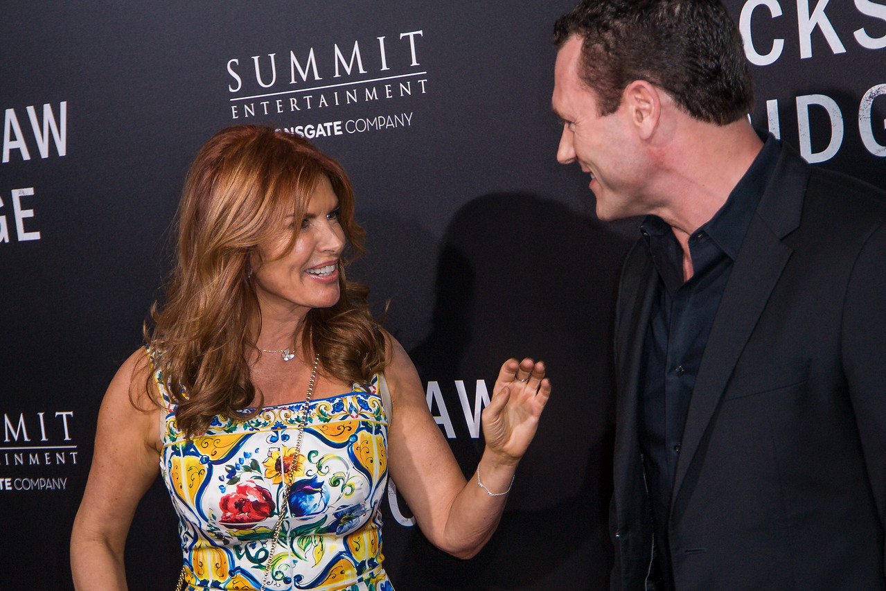 BEVERLY HILLS, CA - OCTOBER 24: Actress Roma Downey and Jason O'Mara attend the screening of Summit Entertainment's 'Hacksaw Ridge' at the Samuel Goldwyn Theater on Monday October 24, 2016 in Beverly Hills, California. (Photo by Tom Sorensen/Moovieboy Pictures)