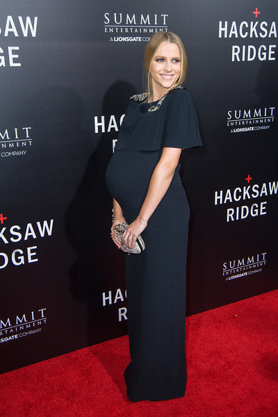 BEVERLY HILLS, CA - OCTOBER 24: Actress Teresa Palmer attends the screening of Summit Entertainment's 'Hacksaw Ridge' at the Samuel Goldwyn Theater on Monday October 24, 2016 in Beverly Hills, California. (Photo by Tom Sorensen/Moovieboy Pictures)