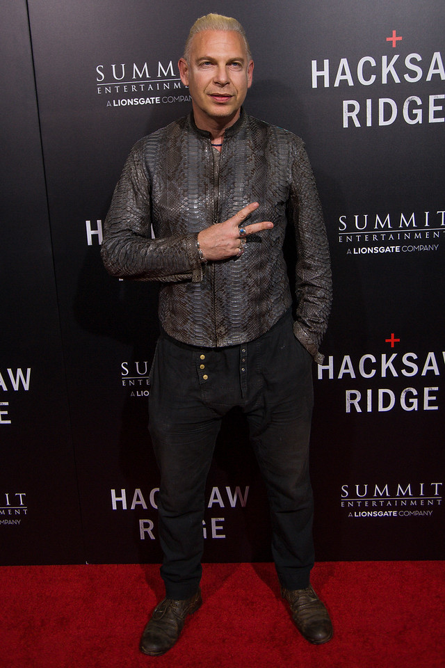 BEVERLY HILLS, CA - OCTOBER 24: Filmmaker Ash Baron-Cohen attends the screening of Summit Entertainment's 'Hacksaw Ridge' at the Samuel Goldwyn Theater on Monday October 24, 2016 in Beverly Hills, California. (Photo by Tom Sorensen/Moovieboy Pictures)