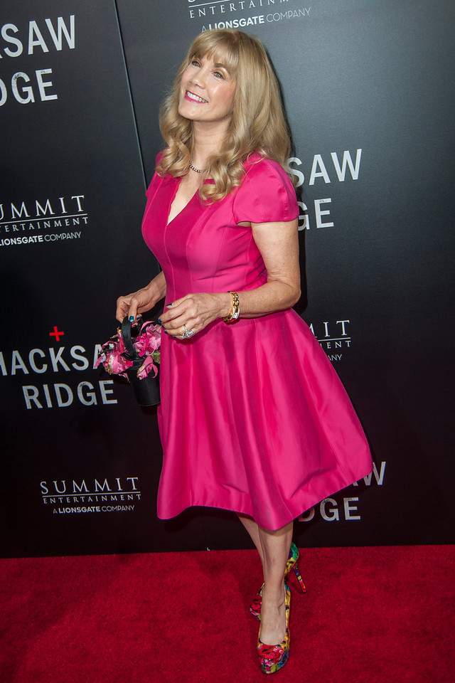 BEVERLY HILLS, CA - OCTOBER 24: Actress Barbi Benton attends the screening of Summit Entertainment's 'Hacksaw Ridge' at the Samuel Goldwyn Theater on Monday October 24, 2016 in Beverly Hills, California. (Photo by Tom Sorensen/Moovieboy Pictures)