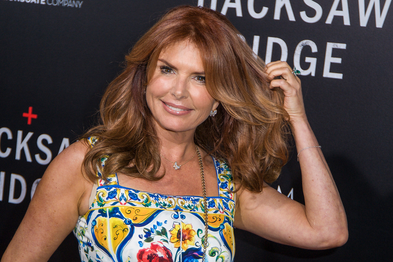 BEVERLY HILLS, CA - OCTOBER 24: Actress Roma Downey attends the screening of Summit Entertainment's 'Hacksaw Ridge' at the Samuel Goldwyn Theater on Monday October 24, 2016 in Beverly Hills, California. (Photo by Tom Sorensen/Moovieboy Pictures)