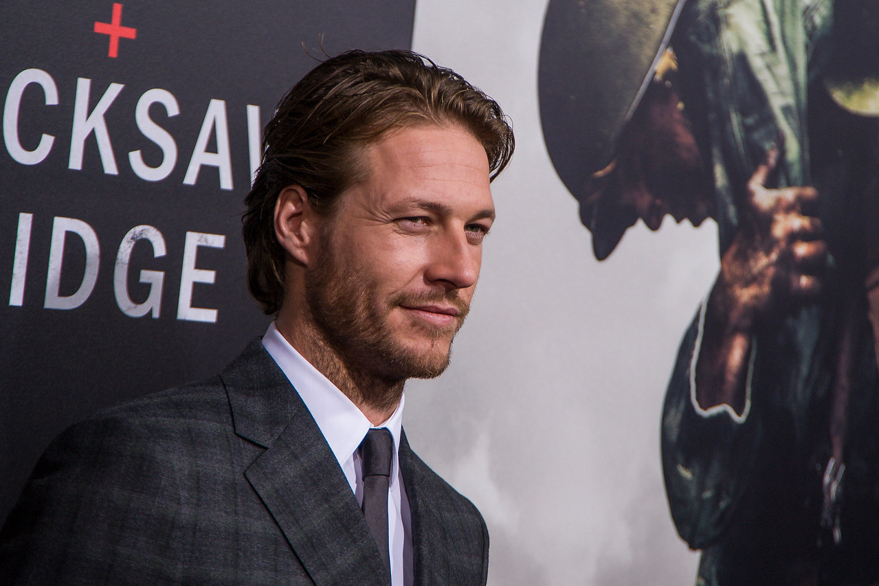 BEVERLY HILLS, CA - OCTOBER 24: Actor Luke Bracey attends the screening of Summit Entertainment's 'Hacksaw Ridge' at the Samuel Goldwyn Theater on Monday October 24, 2016 in Beverly Hills, California. (Photo by Tom Sorensen/Moovieboy Pictures)