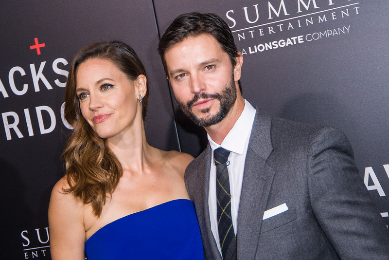 BEVERLY HILLS, CA - OCTOBER 24: Jason Behr and KaDee Strickland attend the screening of Summit Entertainment's 'Hacksaw Ridge' at the Samuel Goldwyn Theater on Monday October 24, 2016 in Beverly Hills, California. (Photo by Tom Sorensen/Moovieboy Pictures)