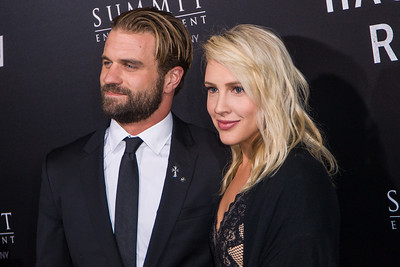 BEVERLY HILLS, CA - OCTOBER 24: Actor Milo Gibson and Lindsay Goodstein attend the screening of Summit Entertainment's 'Hacksaw Ridge' at the Samuel Goldwyn Theater on Monday October 24, 2016 in Beverly Hills, California. (Photo by Tom Sorensen/Moovieboy Pictures)