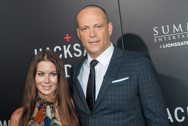 BEVERLY HILLS, CA - OCTOBER 24: Kyla Weber and actor Vince Vaughn attend the screening of Summit Entertainment's 'Hacksaw Ridge' at the Samuel Goldwyn Theater on Monday October 24, 2016 in Beverly Hills, California. (Photo by Tom Sorensen/Moovieboy Pictures)