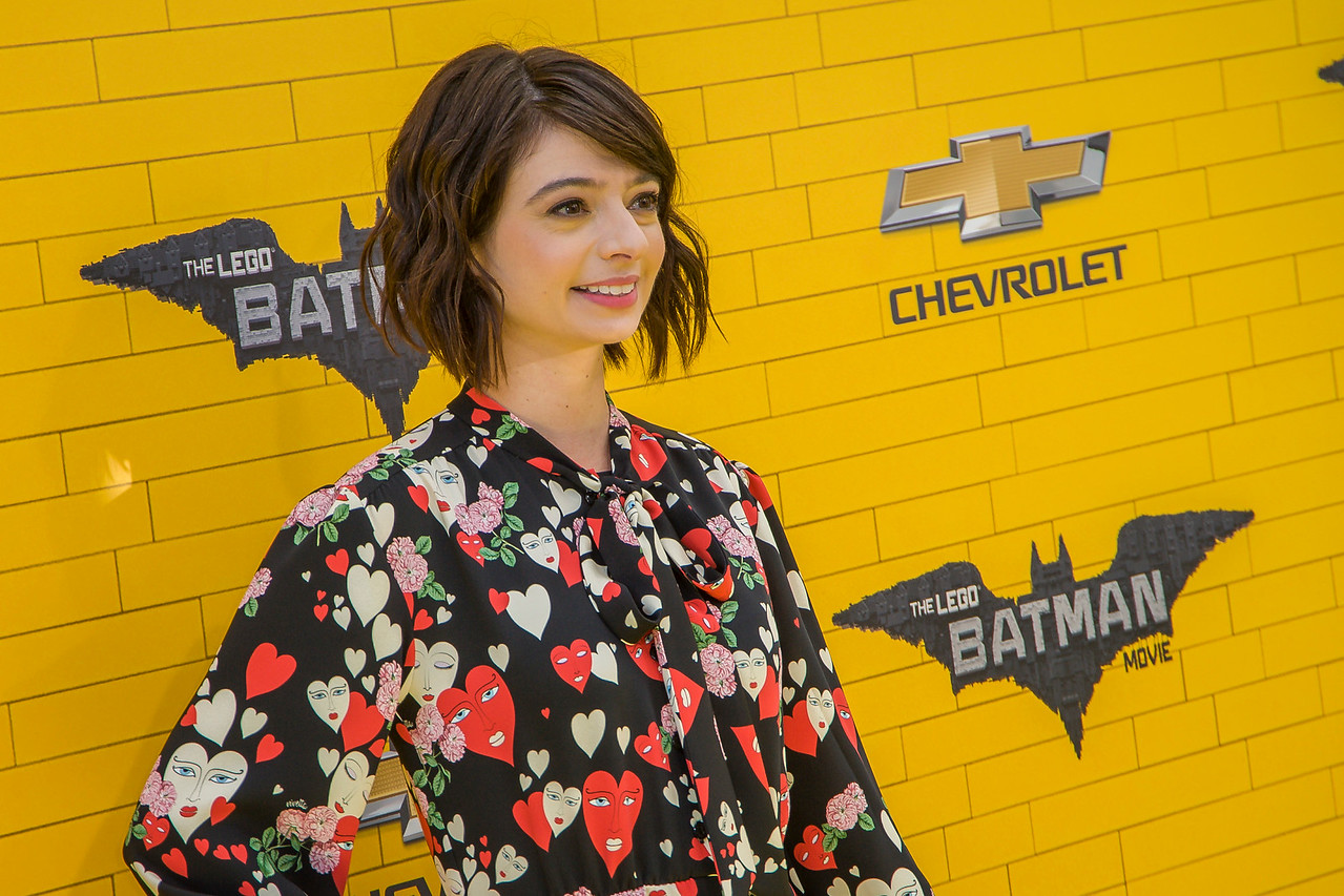 WESTWOOD, CA - FEBRUARY 04: Actress Kate Micucci attends the premiere Of Warner Bros. Pictures' 'The LEGO Batman Movie' at Regency Village Theatre on Saturday February 4, 2017 in Westwood, California. (Photo by Tom Sorensen/Moovieboy Pictures)