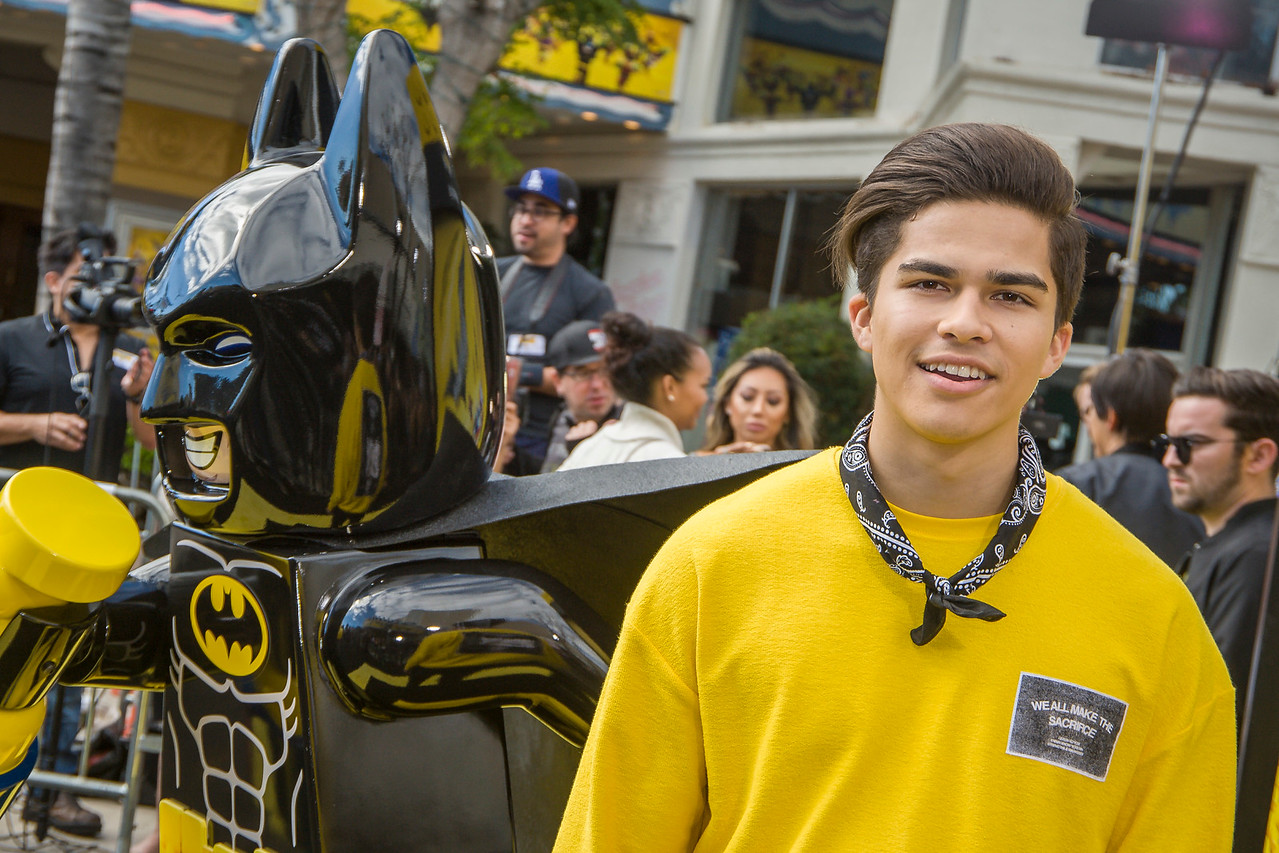 WESTWOOD, CA - FEBRUARY 04:  Alex Aiono attends the premiere Of Warner Bros. Pictures' 'The LEGO Batman Movie' at Regency Village Theatre on Saturday February 4, 2017 in Westwood, California. (Photo by Tom Sorensen/Moovieboy Pictures)