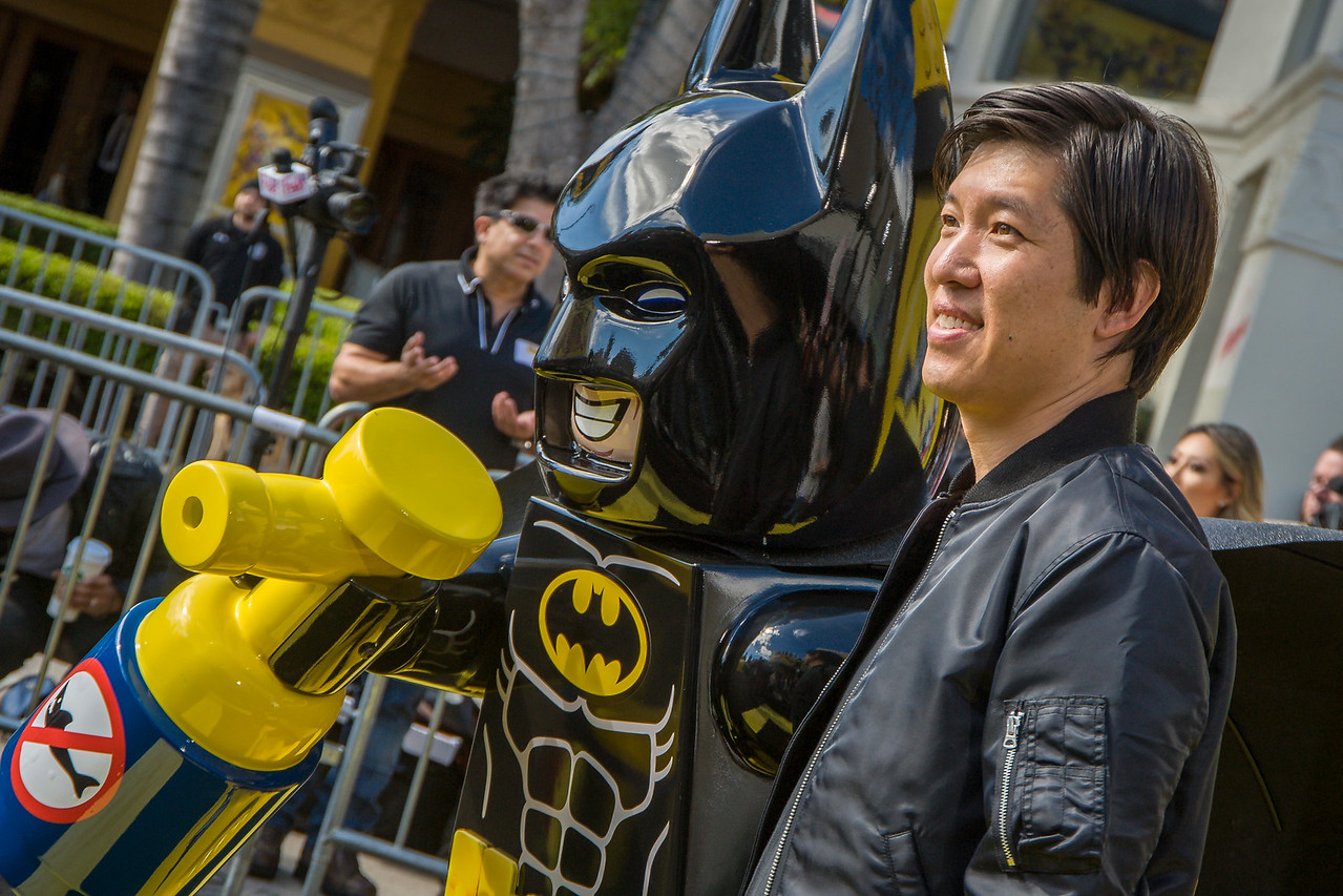 WESTWOOD, CA - FEBRUARY 04: Producer Dan Lin attends the premiere Of Warner Bros. Pictures' 'The LEGO Batman Movie' at Regency Village Theatre on Saturday February 4, 2017 in Westwood, California. (Photo by Tom Sorensen/Moovieboy Pictures)