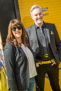WESTWOOD, CA - FEBRUARY 04: Producers Jill Wilfert and Matthew Ashton attend the premiere Of Warner Bros. Pictures' 'The LEGO Batman Movie' at Regency Village Theatre on Saturday February 4, 2017 in Westwood, California. (Photo by Tom Sorensen/Moovieboy Pictures)