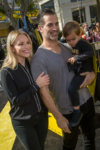 WESTWOOD, CA - FEBRUARY 04: (L-R) Julie Solomon, Johnathon Schaech and Camden Quinn Schaech attend the premiere Of Warner Bros. Pictures' 'The LEGO Batman Movie' at Regency Village Theatre on Saturday February 4, 2017 in Westwood, California. (Photo by Tom Sorensen/Moovieboy Pictures)