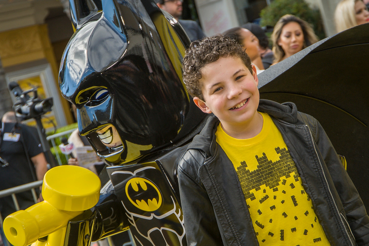 WESTWOOD, CA - FEBRUARY 04: Actor Jadon Sand attends the premiere Of Warner Bros. Pictures' 'The LEGO Batman Movie' at Regency Village Theatre on Saturday February 4, 2017 in Westwood, California. (Photo by Tom Sorensen/Moovieboy Pictures)