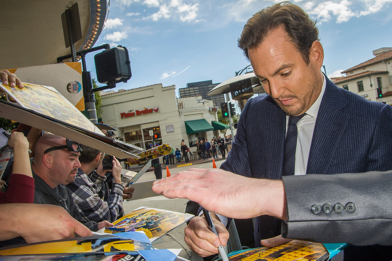 WESTWOOD, CA - FEBRUARY 04: Actor Will Arnett attends the premiere Of Warner Bros. Pictures' 'The LEGO Batman Movie' at Regency Village Theatre on Saturday February 4, 2017 in Westwood, California. (Photo by Tom Sorensen/Moovieboy Pictures)