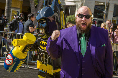 WESTWOOD, CA - FEBRUARY 04: Actor Stephen Kramer Glickman atends the premiere Of Warner Bros. Pictures' 'The LEGO Batman Movie' at Regency Village Theatre on Saturday February 4, 2017 in Westwood, California. (Photo by Tom Sorensen/Moovieboy Pictures)