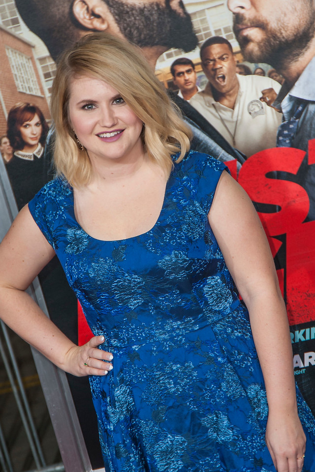 WESTWOOD, CA - FEBRUARY 13: Actress Jillian Bell attends the premiere of Warner Bros. Pictures' 'Fist Fight' on Monday February 13, 2017 in Westwood, California. (Photo by Tom Sorensen/Moovieboy Pictures)