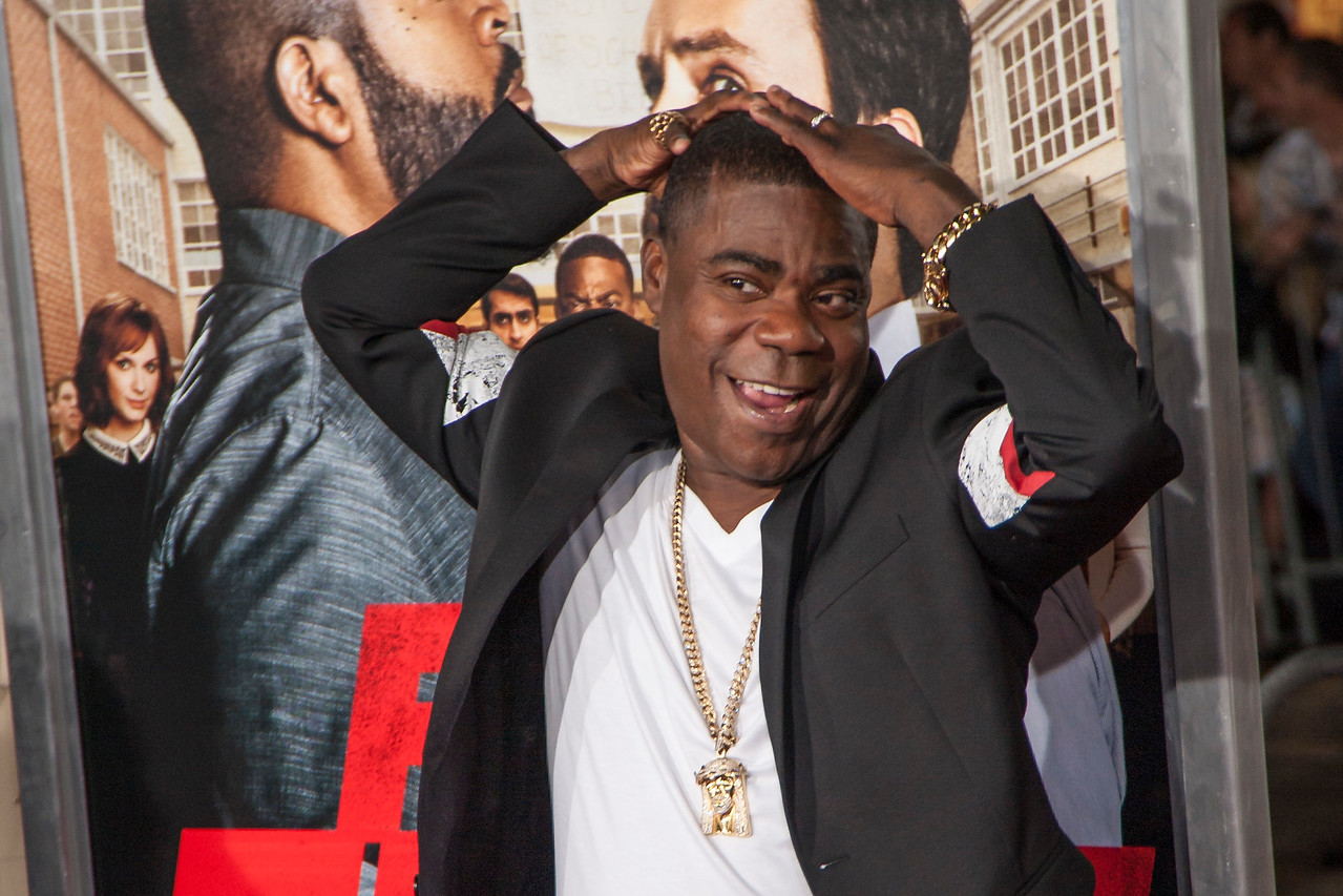WESTWOOD, CA - FEBRUARY 13: Actor Tracy Morgan attends the premiere of Warner Bros. Pictures' 'Fist Fight' on Monday February 13, 2017 in Westwood, California. (Photo by Tom Sorensen/Moovieboy Pictures)