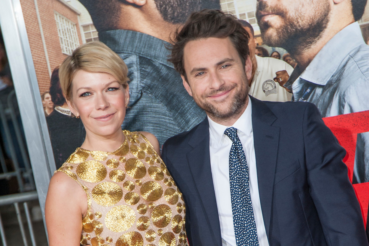 WESTWOOD, CA - FEBRUARY 13:  Actress Mary Elizabeth Ellis and actor Charlie Day attend the premiere of Warner Bros. Pictures' 'Fist Fight' on Monday February 13, 2017 in Westwood, California. (Photo by Tom Sorensen/Moovieboy Pictures)