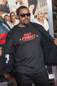 WESTWOOD, CA - FEBRUARY 13: Actor/rapper Ice Cube attends the premiere of Warner Bros. Pictures' 'Fist Fight' on Monday February 13, 2017 in Westwood, California. (Photo by Tom Sorensen/Moovieboy Pictures)