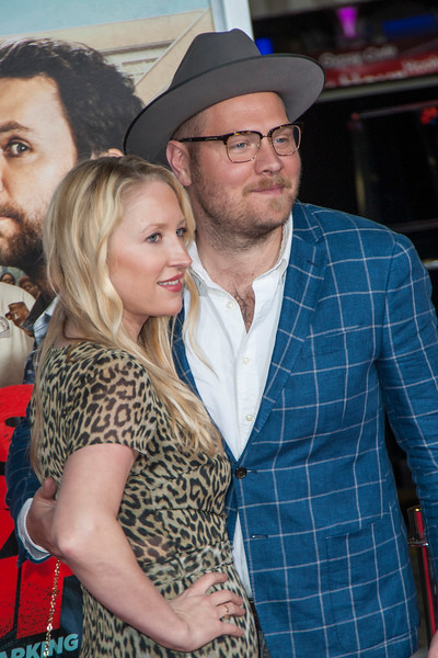 WESTWOOD, CA - FEBRUARY 13: Composer Dominic Lewis and Erin Price attend the premiere of Warner Bros. Pictures' 'Fist Fight' on Monday February 13, 2017 in Westwood, California. (Photo by Tom Sorensen/Moovieboy Pictures)