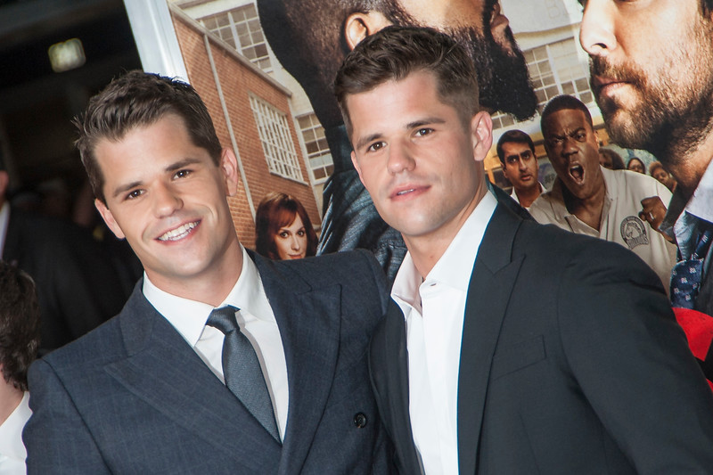 WESTWOOD, CA - FEBRUARY 13: Actors Max and Charlie Carver attend the premiere of Warner Bros. Pictures' 'Fist Fight' on Monday February 13, 2017 in Westwood, California. (Photo by Tom Sorensen/Moovieboy Pictures)