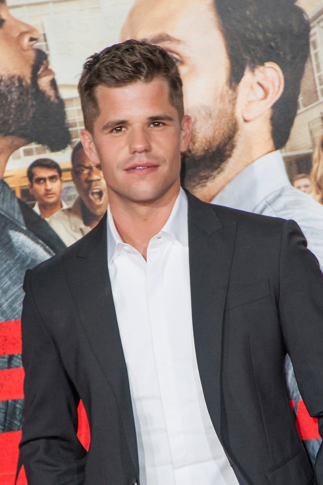 WESTWOOD, CA - FEBRUARY 13: Actor Charlie Carver attends the premiere of Warner Bros. Pictures' 'Fist Fight' on Monday February 13, 2017 in Westwood, California. (Photo by Tom Sorensen/Moovieboy Pictures)