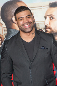 WESTWOOD, CA - FEBRUARY 13: Shawne Merriman attends the premiere of Warner Bros. Pictures' 'Fist Fight' on Monday February 13, 2017 in Westwood, California. (Photo by Tom Sorensen/Moovieboy Pictures)
