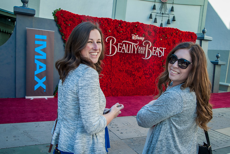 HOLLYWOOD, CA - MARCH 06: Atmosphere at TCL Chinese's 'Beauty and the Beast' IMAX screening and live stream Q&A on Monday, March 6, 2017 in Hollywood, California. (Photo by Tom Sorensen/Moovieboy Pictures)