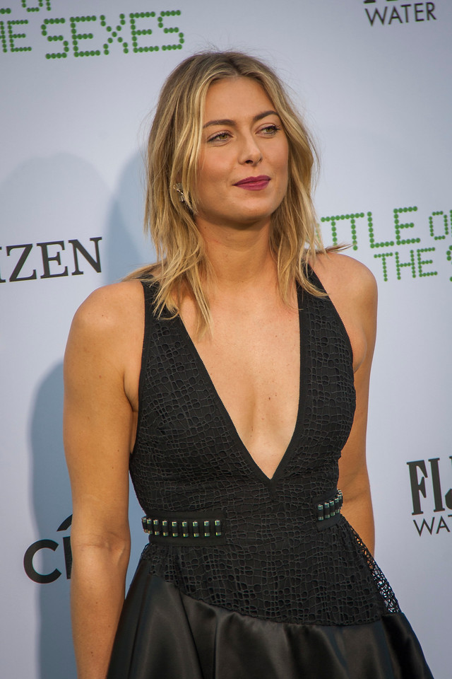 WESTWOOD, CA - SEPTEMBER 16: Tennis player Maria Sharapova attends the premiere of Fox Searchlight Pictures' 'Battle Of The Sexes' at Regency Village Theatre on Saturday, September 16, 2017 in Westwood, California. (Photo by Tom Sorensen/Moovieboy Pictures)