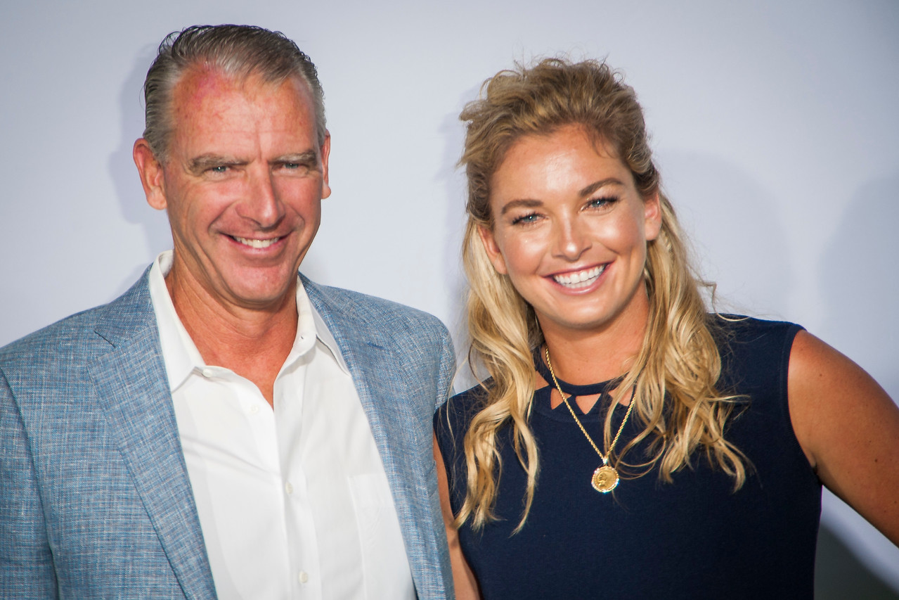 WESTWOOD, CA - SEPTEMBER 16: Bruk Vandeweghe (L) and Tennis Player CoCo Vandeweghe attend the premiere of Fox Searchlight Pictures' 'Battle Of The Sexes' at Regency Village Theatre on Saturday, September 16, 2017 in Westwood, California. (Photo by Tom Sorensen/Moovieboy Pictures)