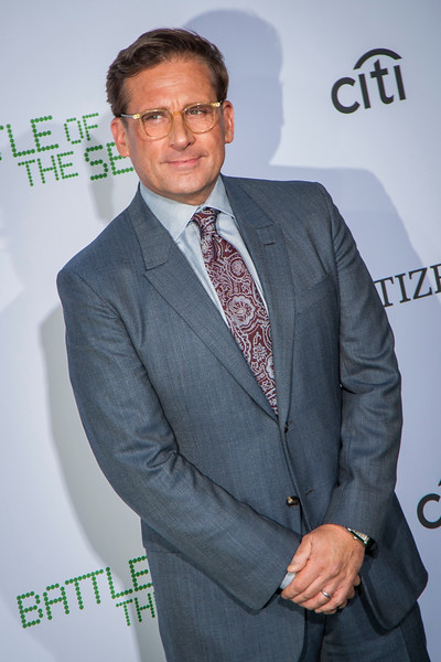WESTWOOD, CA - SEPTEMBER 16: Actor Steve Carell attends the premiere of Fox Searchlight Pictures' 'Battle Of The Sexes' at Regency Village Theatre on Saturday, September 16, 2017 in Westwood, California. (Photo by Tom Sorensen/Moovieboy Pictures)