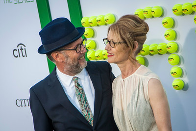 WESTWOOD, CA - SEPTEMBER 16: Directors Jonathan Dayton (L) and Valerie Faris attend the premiere of Fox Searchlight Pictures' 'Battle Of The Sexes' at Regency Village Theatre on Saturday, September 16, 2017 in Westwood, California. (Photo by Tom Sorensen/Moovieboy Pictures)