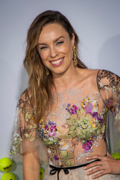 WESTWOOD, CA - SEPTEMBER 16: Actress Jessica McNamee attends the premiere of Fox Searchlight Pictures' 'Battle Of The Sexes' at Regency Village Theatre on Saturday, September 16, 2017 in Westwood, California. (Photo by Tom Sorensen/Moovieboy Pictures)