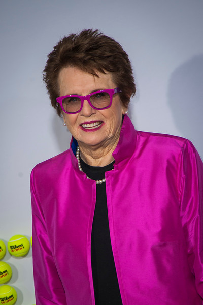 WESTWOOD, CA - SEPTEMBER 16: Tennis legend Billie Jean King attends the premiere of Fox Searchlight Pictures' 'Battle Of The Sexes' at Regency Village Theatre on Saturday, September 16, 2017 in Westwood, California. (Photo by Tom Sorensen/Moovieboy Pictures)